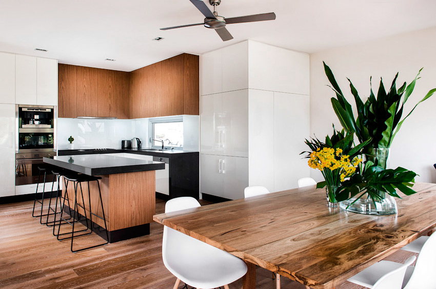 Styling of kitchen