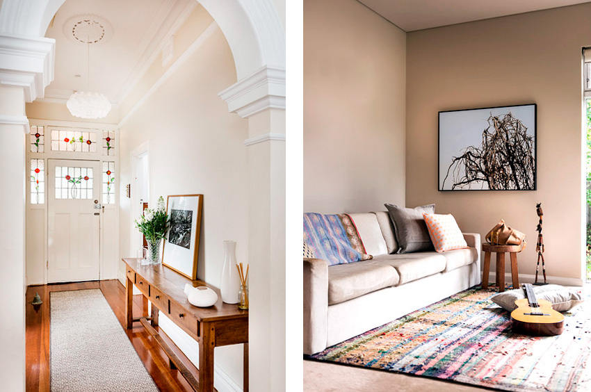 Attrayant Bedroom Styling; Interior Design Of Hallway And Lounge Room ...